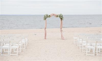 View Photo #3 - Beach Ceremony Setup