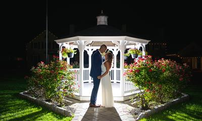 View Photo #10 - Gazebo at Night