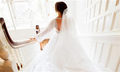View Photo #5 - Bride on Staircase