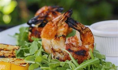 View Photo #9 - Bacon wrapped shrimp with horseradish aioli