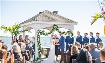 View Photo #3 - Ceremony on the Patio
