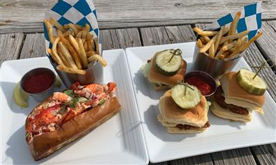 View Photo #1 - Lobster Roll and Crispy Fish Sliders
