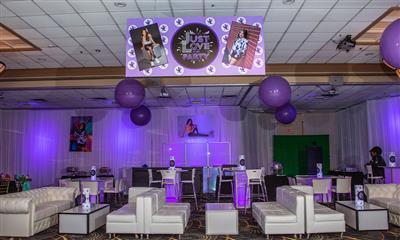 View Photo #13 - Ballroom Set Up For Bat Mitzvah